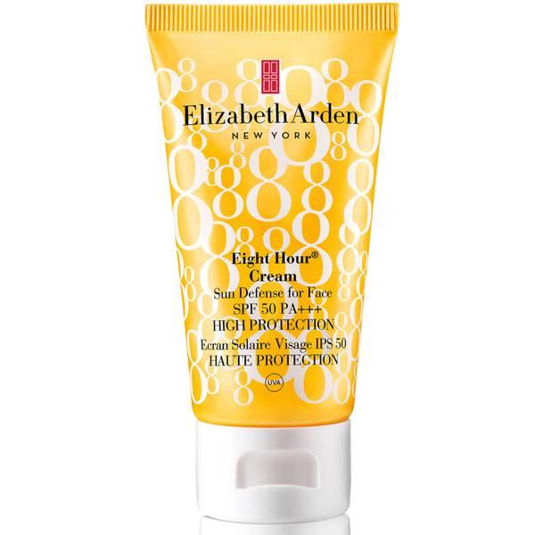 Elizabeth Arden Eight Hour Cream -aurinkovoide kasvoille, SPF 50 (50ml)