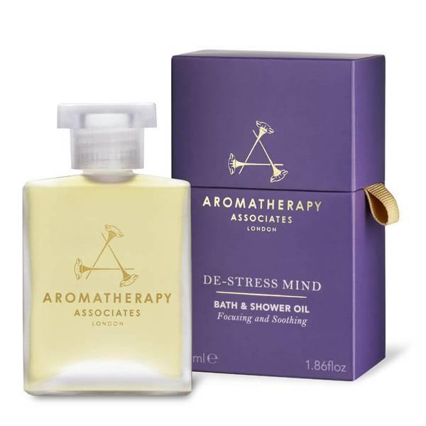 Aromatherapy Associates De-Stress Mind Bath & Shower Oil (55ml)