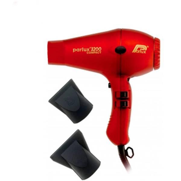 Parlux 3200 Compact Hair Dryer(파룩스 3200 콤팩트 헤어 드라이어) - 레드