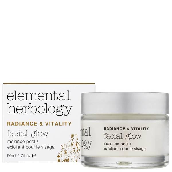 Маска-пилинг для сияния кожи Elemental Herbology Facial Glow Radiance Peel 50 мл