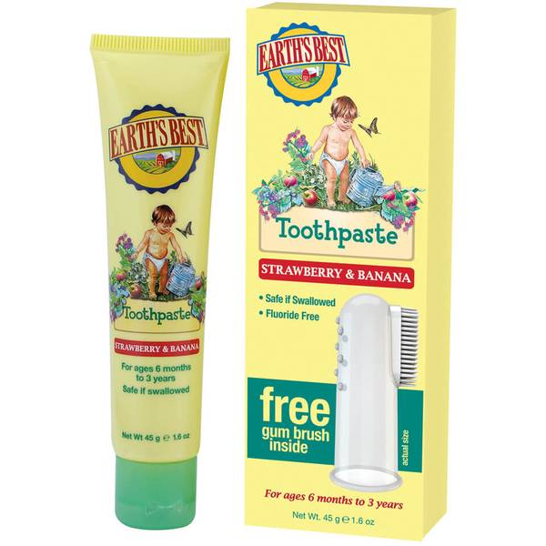 JASON Earth's Best Toddler Toothpaste (50 g)