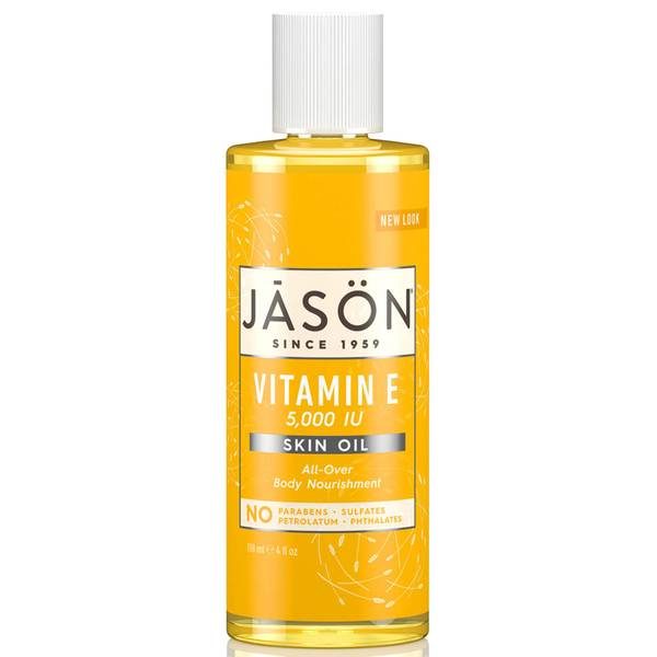 Óleo Corporal com Vitamina E 5000 UI da JASON 118 ml