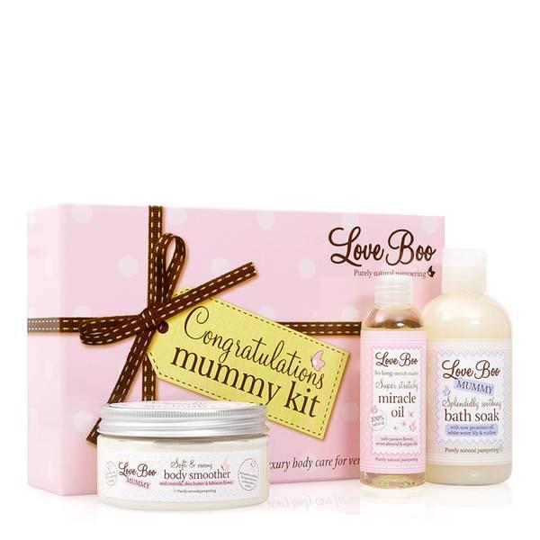 Подарочный набор средств для молодой мамы Love Boo Congratulations Mummy Kit (3 средства)