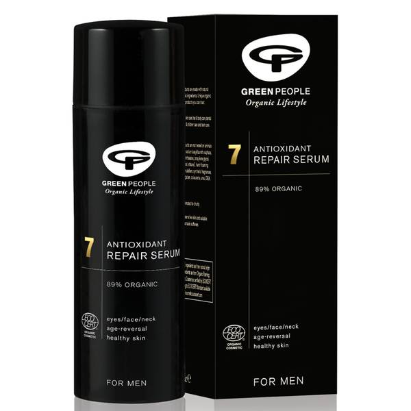 Green People Organic Homme 7 Active Fix Repair Serum (50ml)