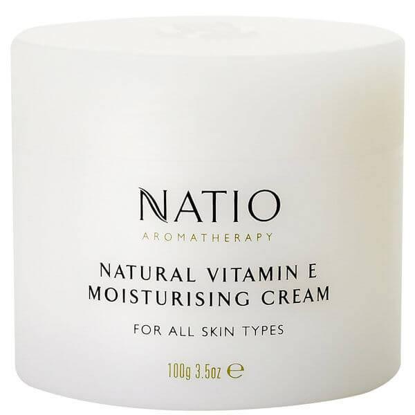 Natio Crema Idratante alla Vitamina E Naturale(100 g)