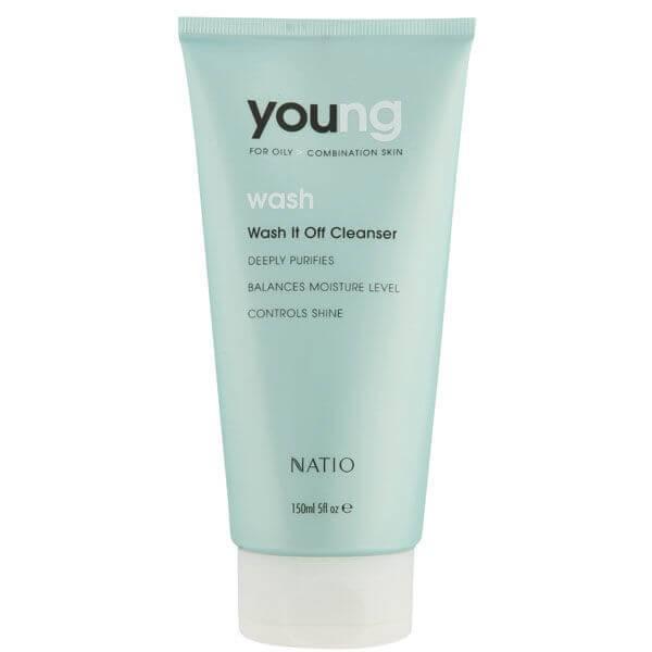 Natio Young Wash It Off detergente viso (150 ml)