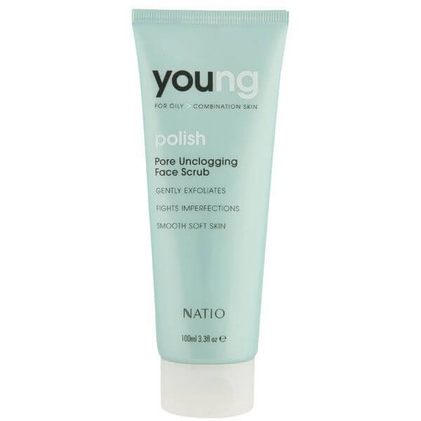 Natio Young Pore Unclogging Face Scrub (100ml)