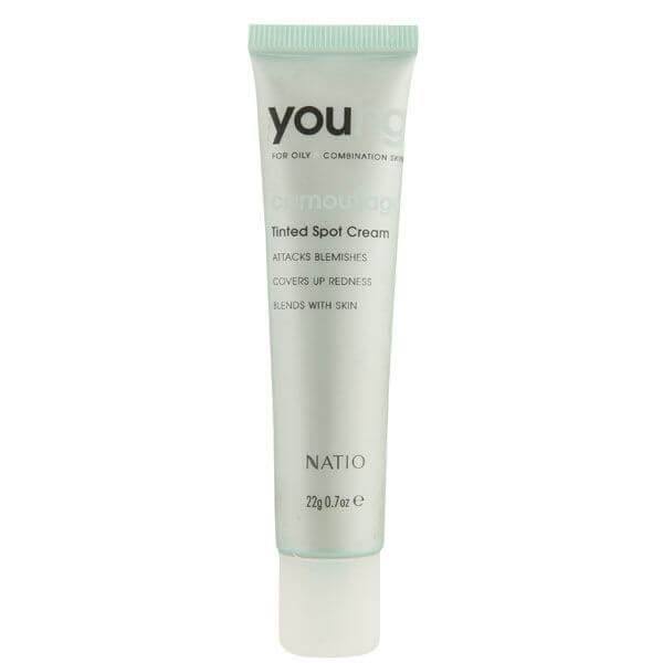 Natio Young crema anti-imperfezioni colorata (22 g)