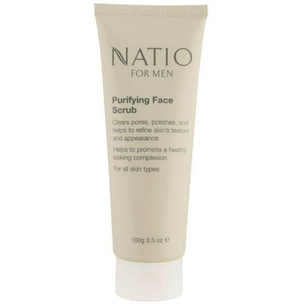 Natio For Men esfoliante viso purificante (100 g)