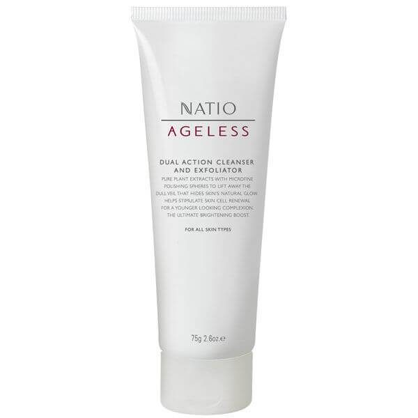 Natio Dual Action detergente + esfoliante (100 g)