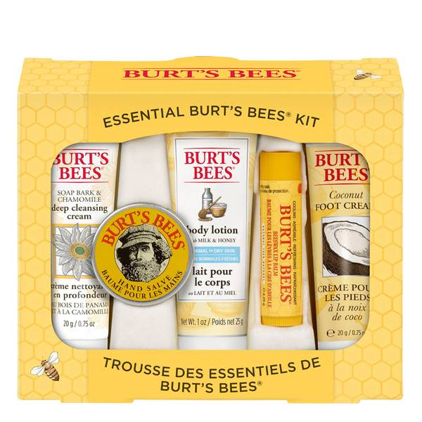 Burts Bees Essentials Kit (5 Products)