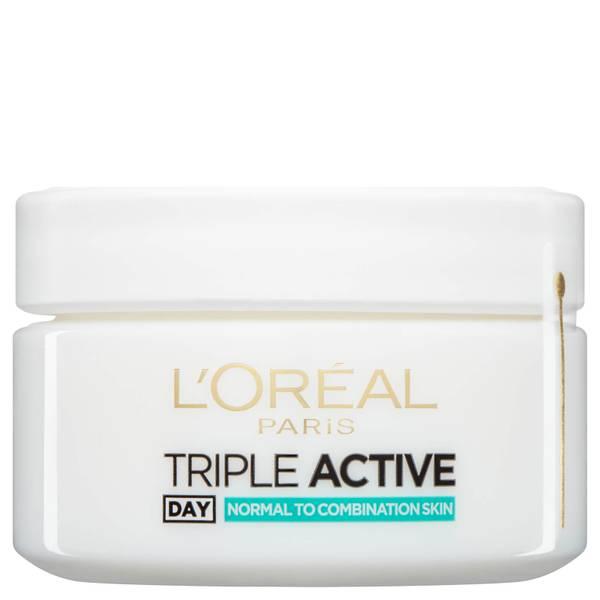 L'Oréal Paris Dermo Expertise Triple Active Multi-Protection Day Moisturiser - Normal / Combination 50ml