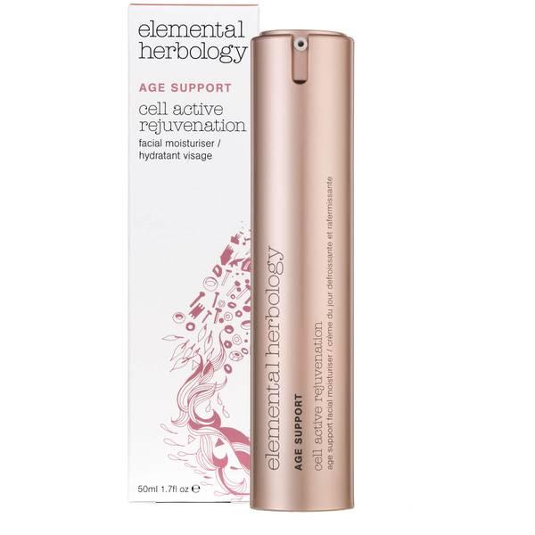 Антивозрастной увлажняющий крем для лица Elemental Herbology Cell Active Rejuvenation Age Support Facial Moisturiser - 50 мл