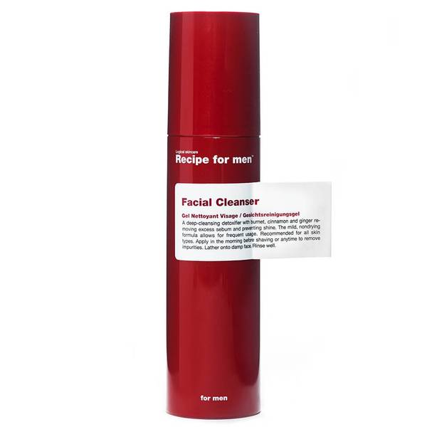 Гель для умывания, мужская линия Recipe for men Facial Cleanser (100мл)