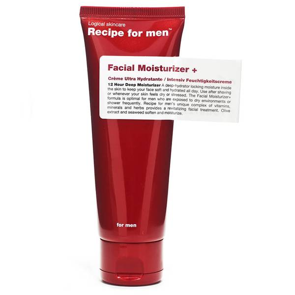 Увлажняющий крем для лица, мужская линия Recipe for Men— Facial Moisturiser + 75мл