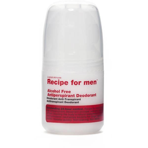 Recipe for Men Alcohol Free Antiperspirant Roll on Deodorant 60ml