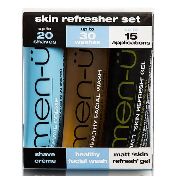 men-u skin refresher set 3 x 0.5 oz.