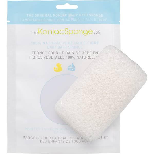 The Konjac Sponge Company Baby Bath Sponge(더 곤약 스펀지 컴퍼니 베이비 배스 스펀지)