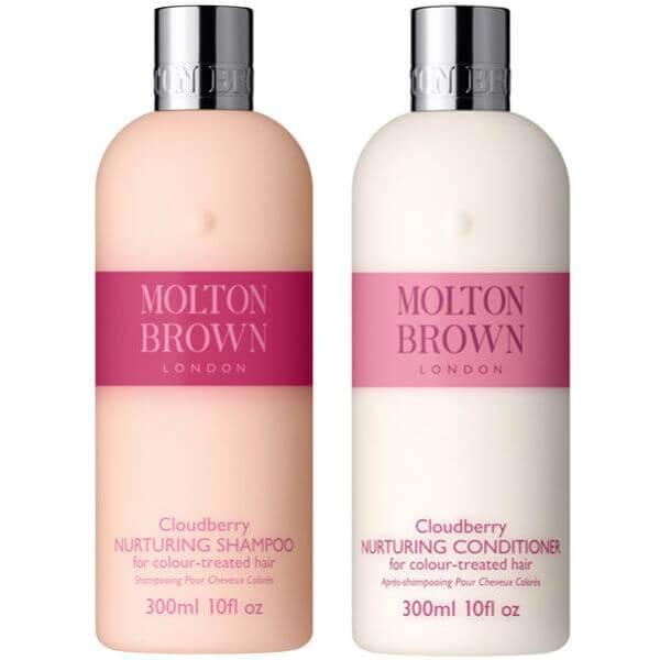 Molton Brown Cloudberry Nurturing Shampoo & Conditioner 300ml (Bündel)