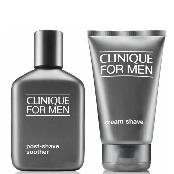 Clinique For Men Cream Shave & Post Shave Healer (Bundle)