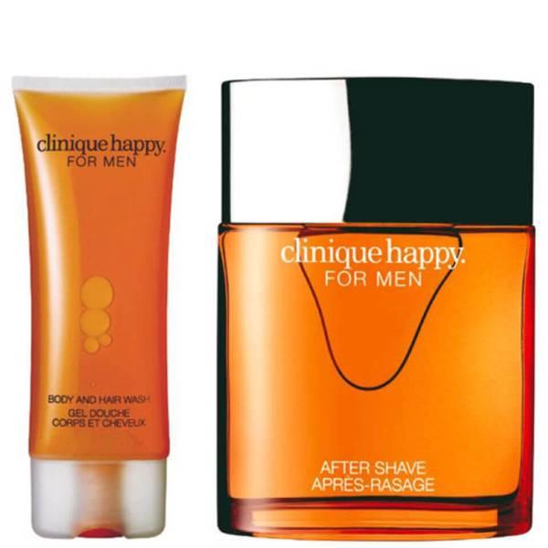 Clinique For Men Happy Duo (100ml Spray, Hair & Body Wash)