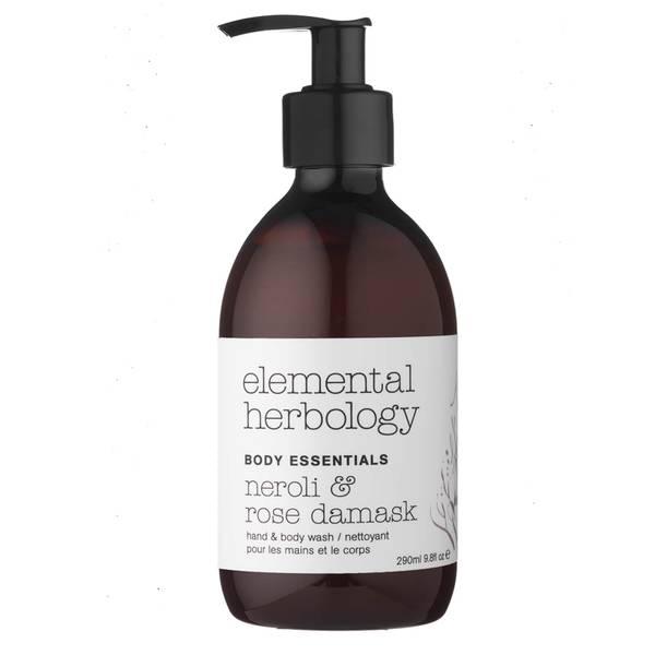 Гель для душа с маслом нероли и дамасской розы Elemental Herbology Neroli and Rose Damask Body Wash