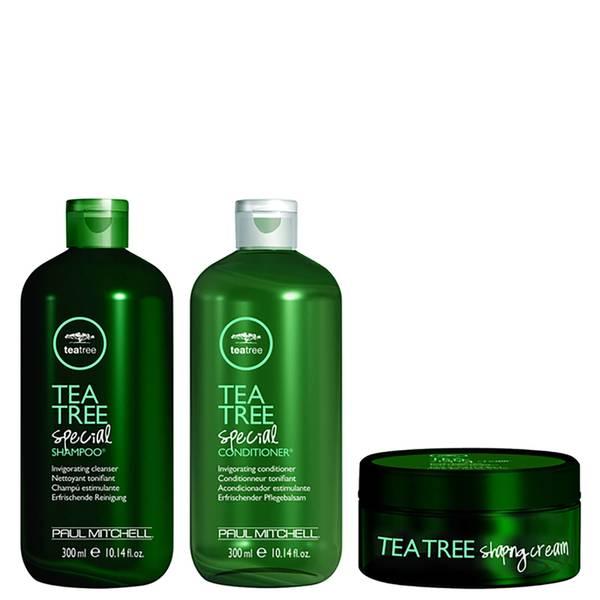 Paul Mitchell Tea Tree Special Trio Shampoo, Conditioner & Shaping Cream