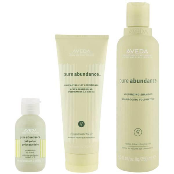 Aveda Volumen Haarpflege Trio Pure Abundance Shampoo, Spülung & Abundance Hair Potion