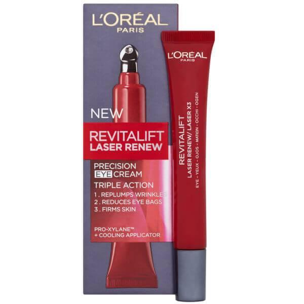 L'Oréal Paris Dermo Expertise Revitalift Laser Renew Precision Eye Cream - Triple Action (15ml)