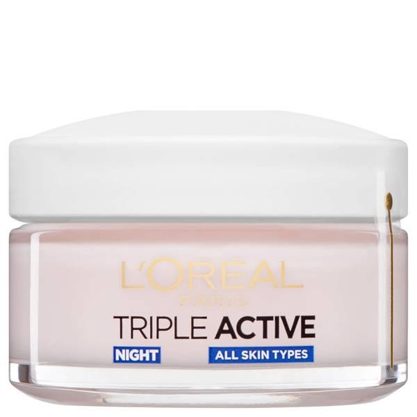 Crema de noche L'Oreal Paris Dermo Expertise Triple Active (50 ml)