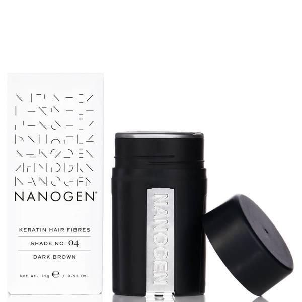 Fibres ultra-fines Nanogen pour cheveux brun foncé (15 g)
