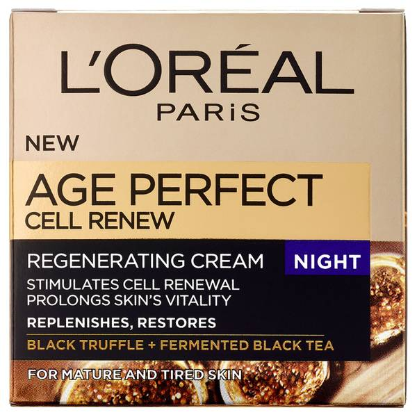 L'Oreal Paris Dermo Expertise Age Perfect Cell Renew Advanced Restoring Night Cream (50 ml)