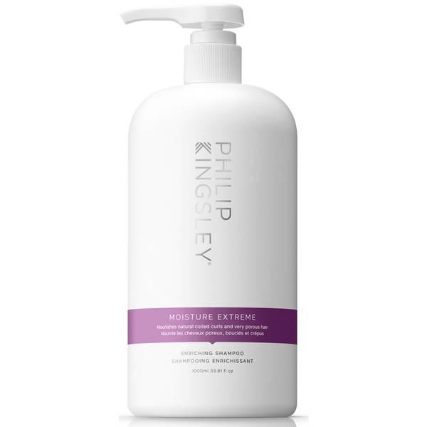 Philip Kingsley Moisture Extreme Enriching Shampoo 1000ml (Worth $160)