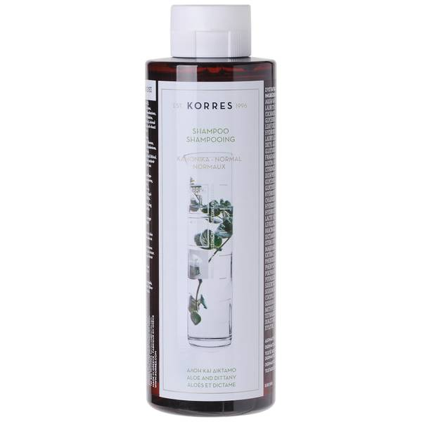 KORRES Natural Aloe and Dittany Shampoo for Normal/Dull Hair 250ml