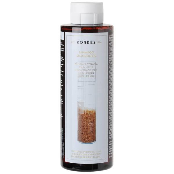 코레스 라이스 프로틴 & 린덴 샴푸 250ml