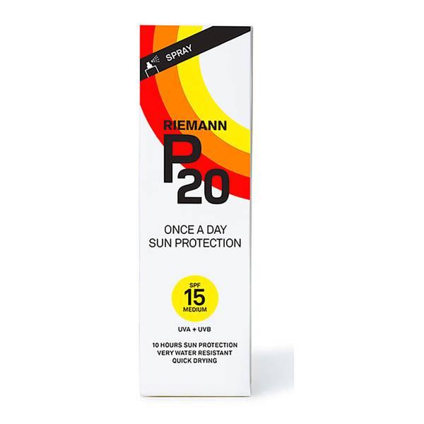 """Écran solaire """"P20"""" SPF 15 de Riemann (100 ml)"""