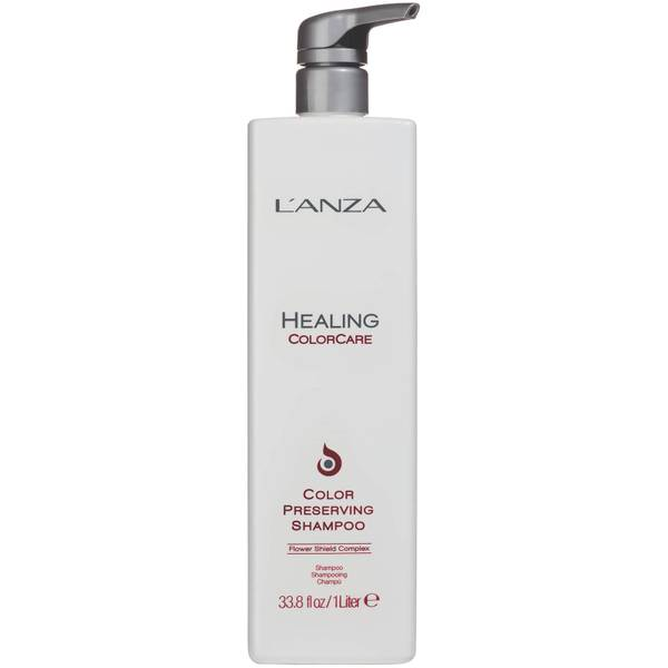 L'Anza Healing Colorcare Colour Preserving Shampoo (1000 ml) - (Wert £ 78,00)