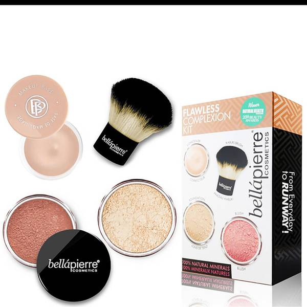 Bellápierre Cosmetics Flawless Complexion Kit - Fair