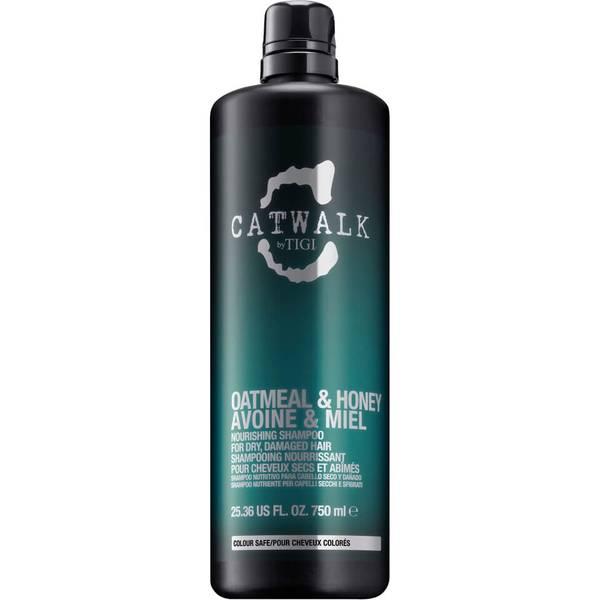 TIGI Catwalk Oatmeal & Honey Nourishing Shampoo (750ml)