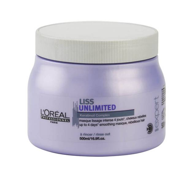 L'Oreal Professionnel Serie Expert Liss Unlimited Masque (500 ml)