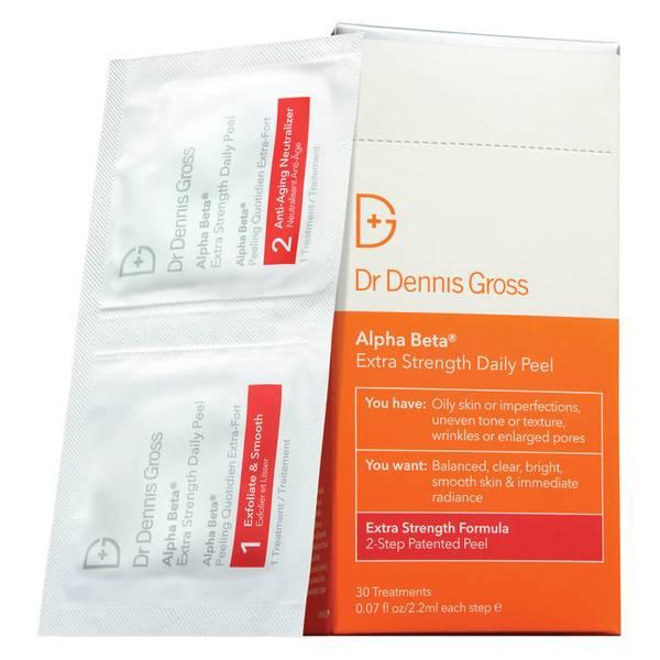 Dr Dennis Gross Skincare Alpha Beta Extra Strength Daily Peel (Pack of 30)