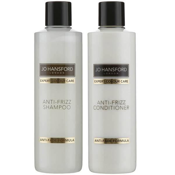 Jo Hansford Expert Colour Care Anti Frizz Shampoo and Conditioner (250ml)