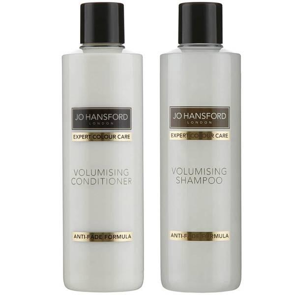 Jo Hansford Expert Colour Care Volumising szampon i odżywka (250ml) zwiększające objętość włosów