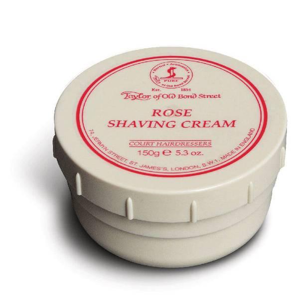 Taylor of Old Bond Street Shaving Cream Bowl (5oz) - Rose
