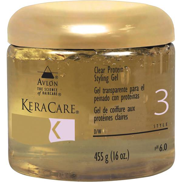 KeraCare Protein Styling Gel - Clear 16oz