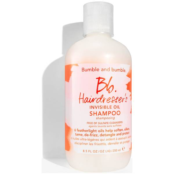 ChampôHairdresser's Invisible Oil,sem sulfatos, da Bumble and bumble 250ml
