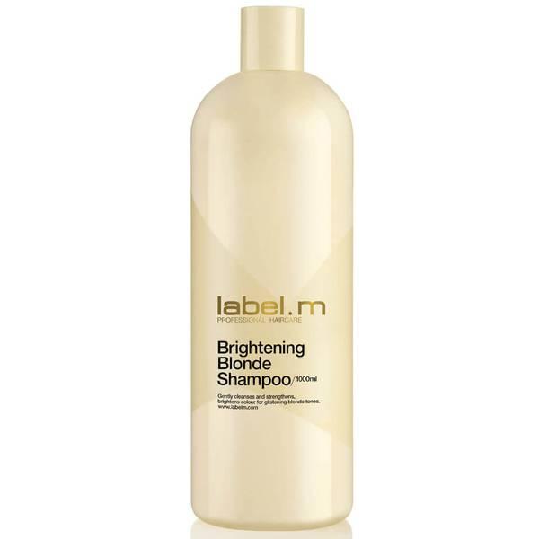 label.m Brightening Blonde Shampoo 1000ml (Worth £42.50)