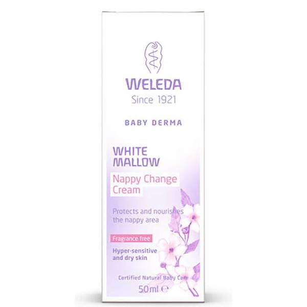 Weleda Baby Derma White Mallow Nappy Cream (50ml)