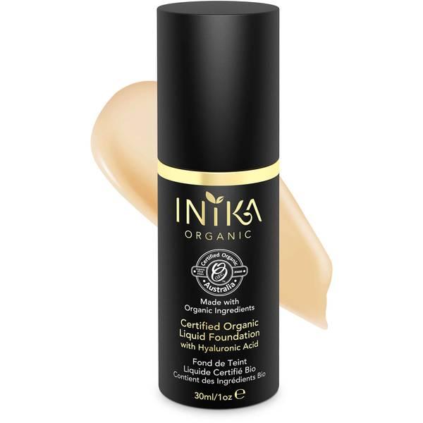 INIKA Certified Organic Liquid Mineral Foundation - Tan