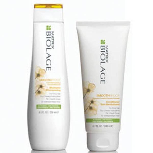 Matrix Biolage SmoothProof Shampoo og Conditioner